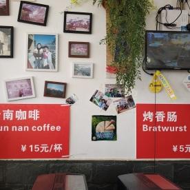 Kaffee und Bratwurst