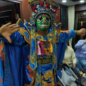 Maskenwechsel Bian Lian