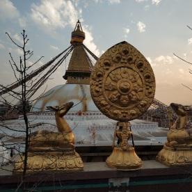Stupa in Bodnath