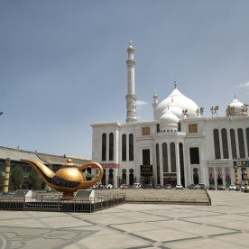 die große Moschee ist links ;-)