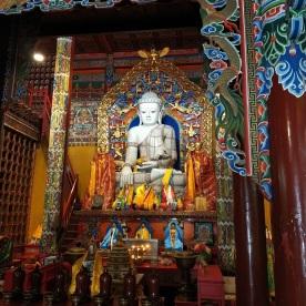 Silber Buddha