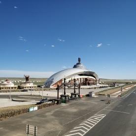 Touristenzentrum und Tribüne