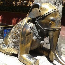 Elefant in der verbotenen Stadt