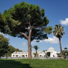 auf dem Platz zwischen blauer Moschee und Hagia Sofia