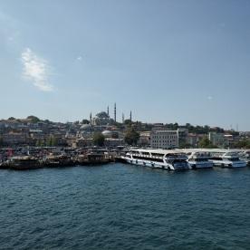 Blick auf die Süleymaniye-Moschee