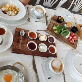 Frühstück am nächsten tag